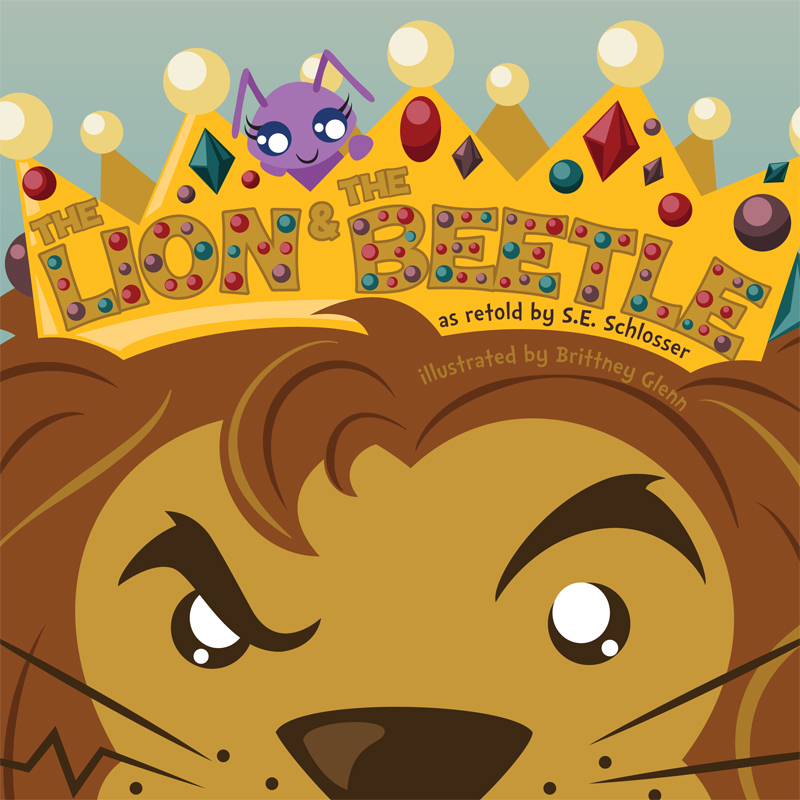 The Lion and the Beetle Cover