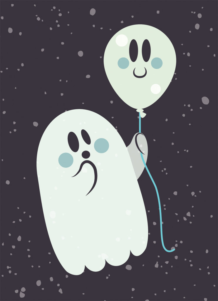 Ghosty and Friend