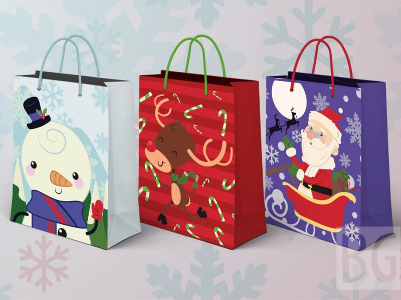 Cute Giftbags Mock ups